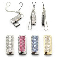 Sparkling Swarovski Jewelled 4GB USB
